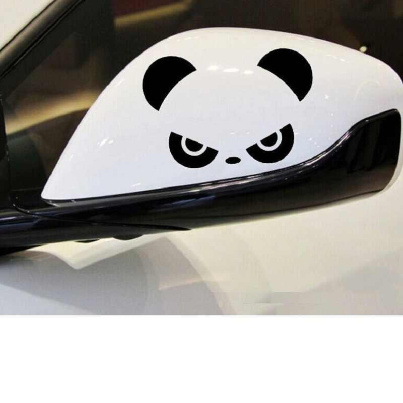 1pc Car Sticker Lovely Panda Car Window Bumper Rearview Mirror Waterproof Decal
