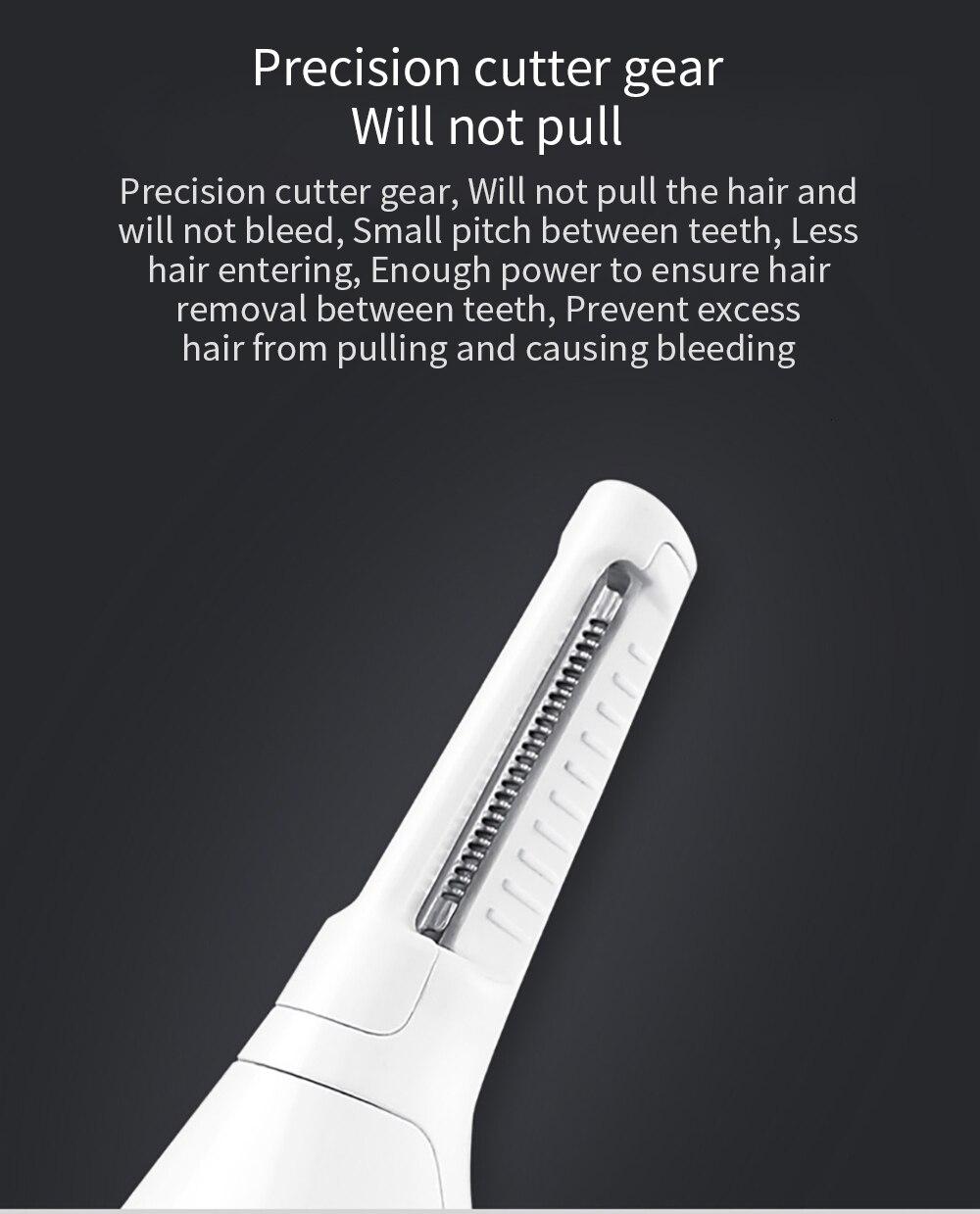 XIAOMI SOOCAS Nose Hair Eyebrow Trimmer 6