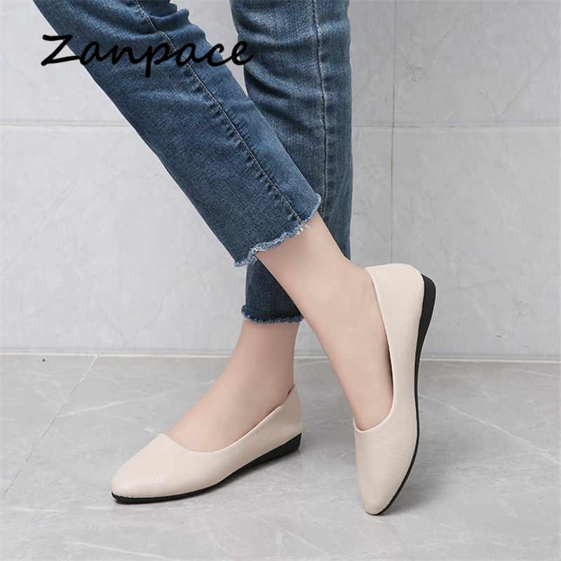 Large Size 41 Flat Shoes Women Dress
