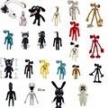 Игрушка плюшевая в виде головы сирены из аниме, мультяшная набивная кукла-Зверюшка, черная кошка, кролик, мягкая игрушка для детей, рождеств...