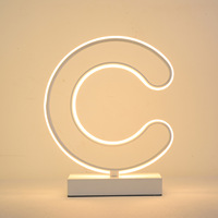 Originality Letter C Desk Lamp New Peculiar Book Light Led Book Light Gift Gift Other Specifications