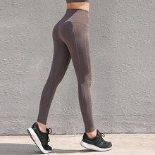 2019 New Women Yoga Pants Leggings Sport  Seamless Mesh Running Sport Tights Women Mention Gym Yoga Fitness Athletic Leggings
