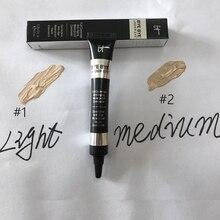 цена it cosmetics BYE BYE UNDER EYE Light & Medium Shades CONCEALER foundation primer 8ml DHL Free shipping онлайн в 2017 году