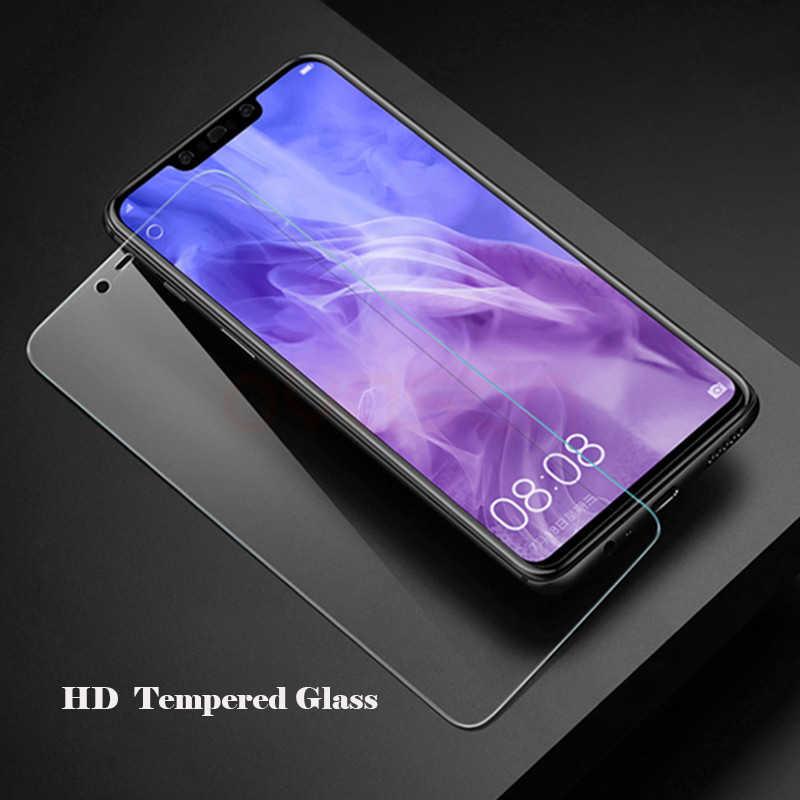 Anti Blue Ray Tempered Glass untuk Xiaomi Redmi 5 5A PLUS 6 6A Note 4 4X 5 7 Pro Mi 8 A2 Lite 9H Pelindung Layar Film Pelindung