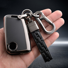 Zinc alloy personalization Car Key Case Cover Fob Bag Suitable For Volkswage Golf VII MK7 5G BE 3G5 Tiguan AD1 BW2