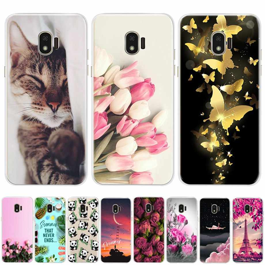 Siliconen Case voor samsung J2 2018 case cover voor samsung galaxy j 2 j2 2018 sm-j250f j250 case bumper soft tpu cover telefoon coque