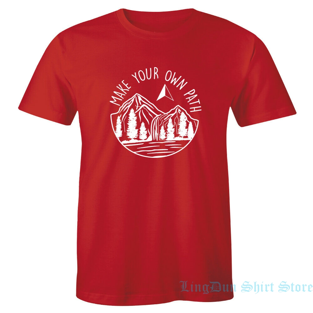 Make Your Own Path Tee Mens Sonoma Goods For Life T-Shirt Outdoors Adventure men women t shirt 100% cotton tops tees