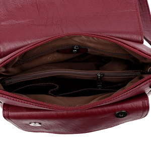 Image 5 - Hot Winter Style Bag Leather Luxury Handbags Women Bags Designer Women Shoulder Messenger Bags For Women 2020 Sac A Main Femme