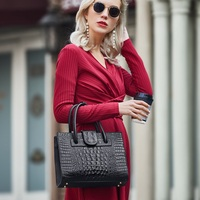 ZOOLER Real Genuine Leather Women HandBags Large Businesswoman Cow Leather bags Tote Bags High Quality Black Luxury Brand#WG228