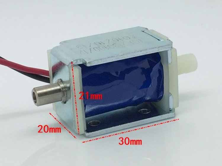 DC 12V Micro Mini Válvula Solenoide Eléctrica N//C normalmente cerrado agua aire bomba de gas