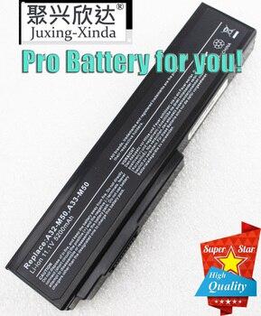 Laptop Battery For Asus N61 N61J N61Jq N61V N61Vg N61Ja N61JV N53 M50 M50s N53S A32-M50 A32-N61 A32-X64 A33-M50 Pro62J Pro64J PC ковш gipfel batista 2687 1 4 л серый