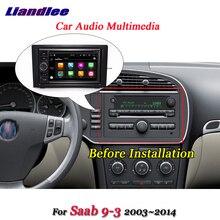 Автомобильная Мультимедийная система Android 8,0 для Saab 9-3 2002-2014, радио, DVD-проигрыватель, рама, USB, GPS-навигация, карта, навигация, HD экран