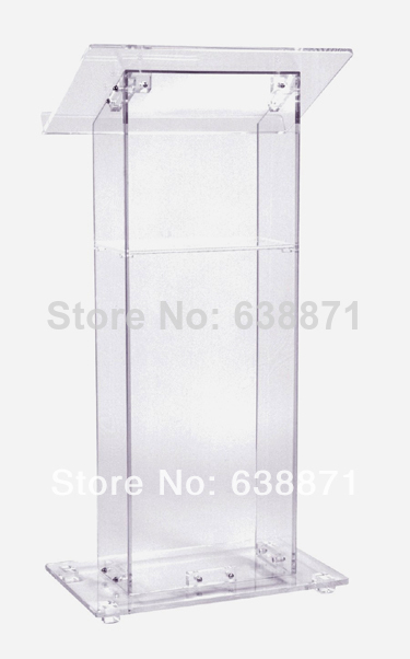 Free Shiping Modern Acrylic Pulpit / Church Podiums /Acrylic Lectern