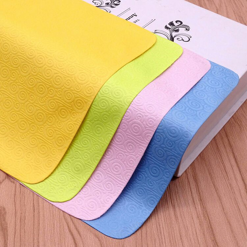 10PCS Microfiber Glasses Cleaning Cloth Cloud Lens Cleaner Soft Eyeglass Cleaning Cloth For Camera Screens Wips Accessories