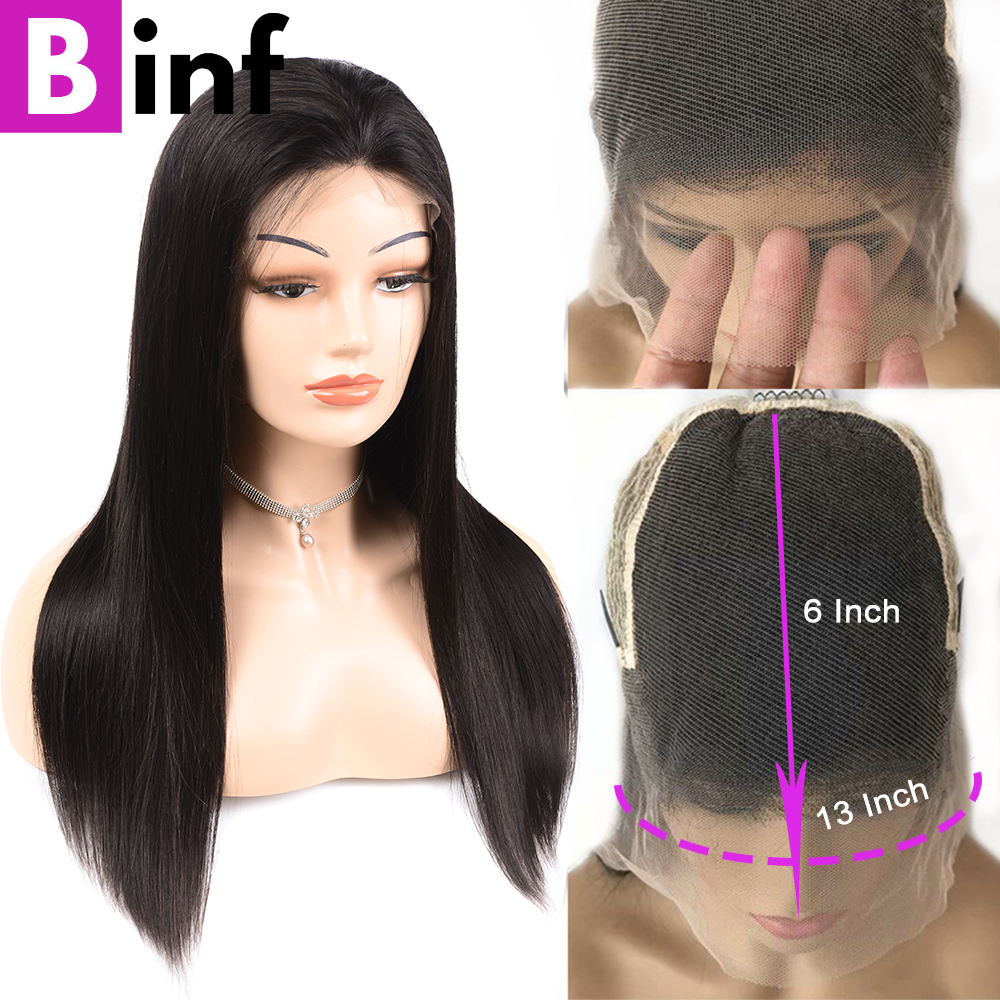 13*6 Lace Front Human Hair Wigs Pre Plucked Hairline Brazilian Remy Swiss Lace Front Wigs With Baby Hair For Black Women
