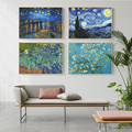 Van Gogh Works Sunflower on Canvas Painting Posters and Prints Abstract Wall Art Pictures Cuadros for Living Room Decor