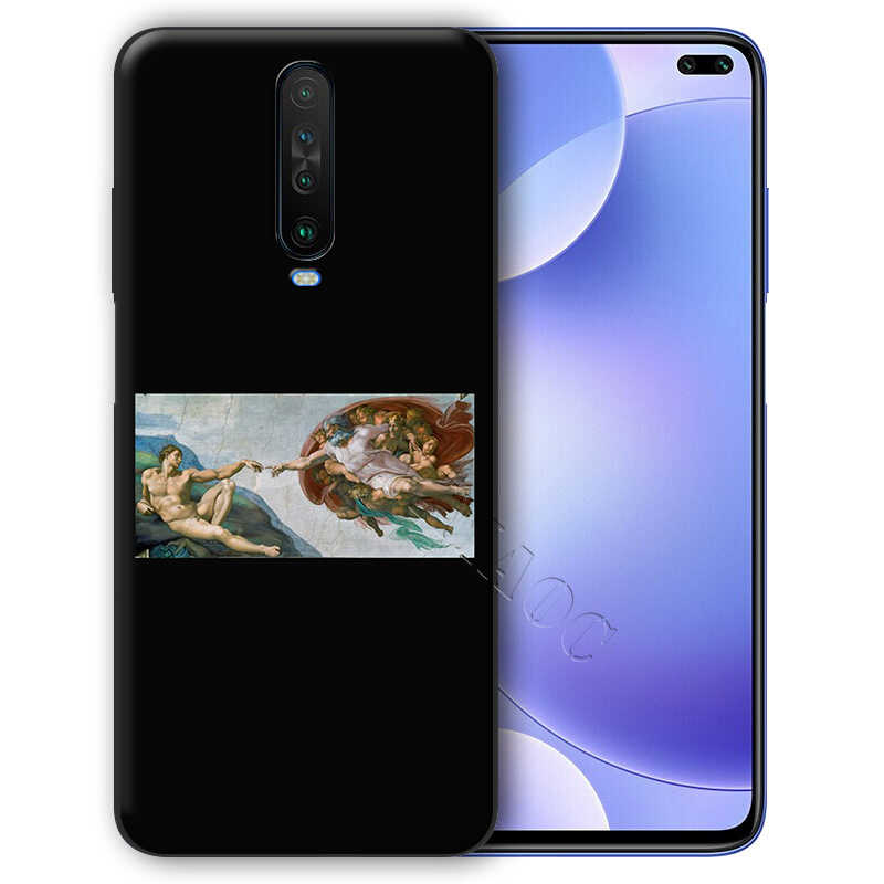 Yimaoc Michelangelo Seni Patung Estetika Case untuk Xiaomi Redmi Note Max 3 6 6A 7 6 8 9 Se A1 a2 Pro Lite Pocophone F1