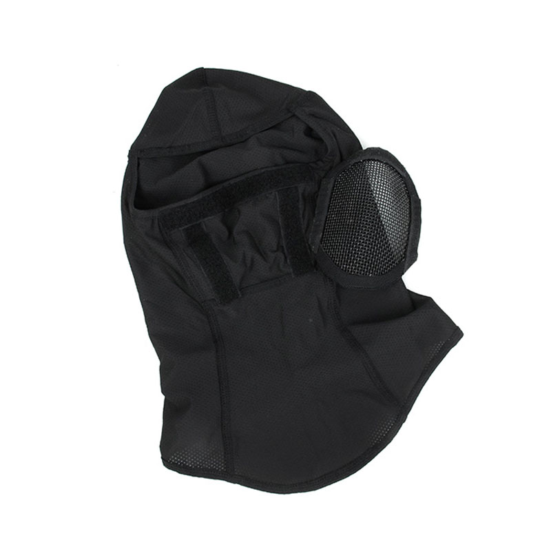 H44000aeeef4c457fb6fd67a9108759f2c TMC3267 CS Tactical Camo Head Cover Metal Mesh Balaclava Full FaceMask Sunscreen Dust-proof Full-wrapped Headscarf Free Shipping