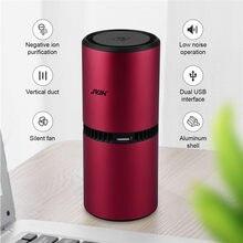 Purificateur d'air à Ozone, diffuseur Rechargeable par USB, désodorisant de voiture, ioniseur d'air, purificateur d'air, pour maison et bureau