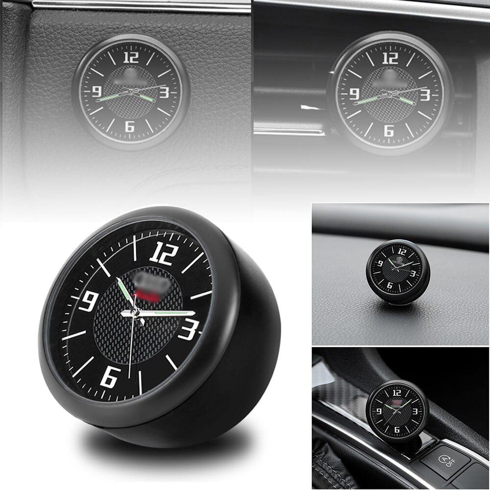 Car Clock Watch Modified Car Interior Electronic Quartz Watch Car Decoration with logo For Honda BMW Benz VW Audi Nissan