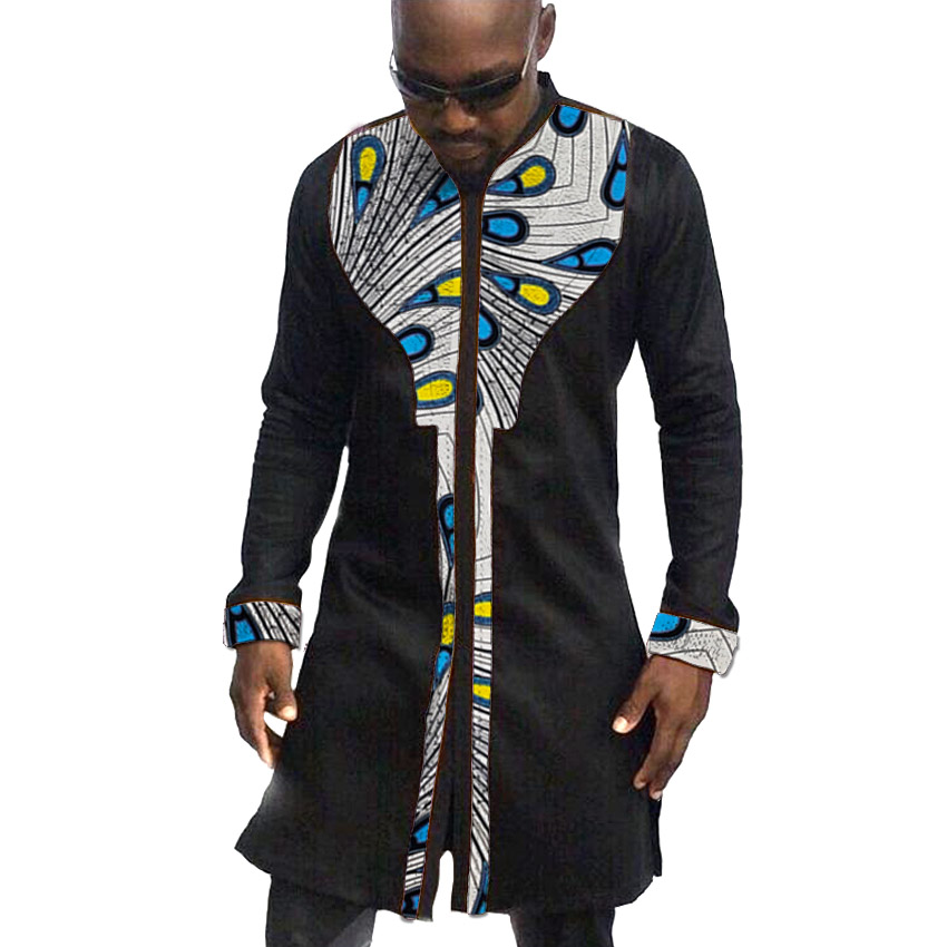 African mens tops made to measure men african clothes fashion shirt for male short sleeve africa clothing Рубашка