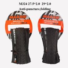 Maxxis 29*2,0 велосипедные шины сверхлегкие анти-прокол 27,5*2,0 29er MAXXLITE складные MTB горный велосипед шины 60psi 170TPI