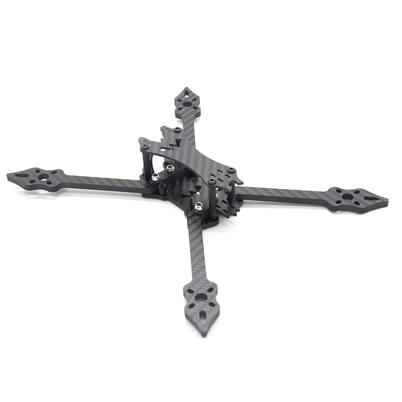 Image 2 - TCMMRC 5 inch Drone Frame Black Bat 220 fpv frame 5mm Arm Carbon Fiber for FPV Racing Drone Frame Kit-in Parts & Accessories from Toys & Hobbies