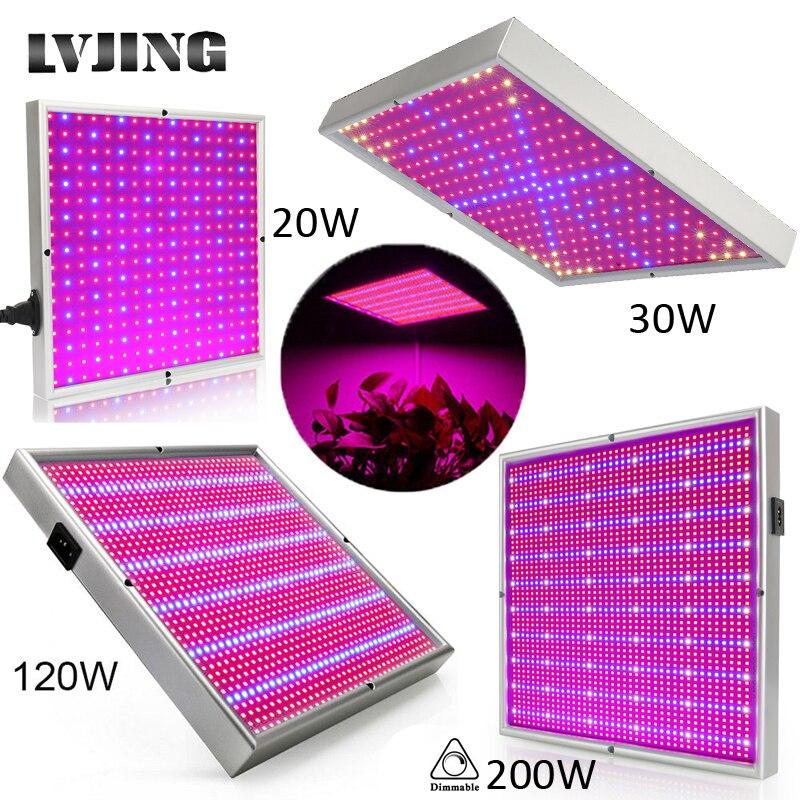 120 ワット 1155Red + 210 ブルー AC85 〜 265 v led 植物成長ライトランプ顕花植物や水耕栽培システム屋内 led fitolamp パネル -
