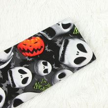 Pure Cotton Plain Fabric High Quality Breathable Cotton Fabric Halloween Pattern Printed Cotton Plain Fabric For Halloween Cloth