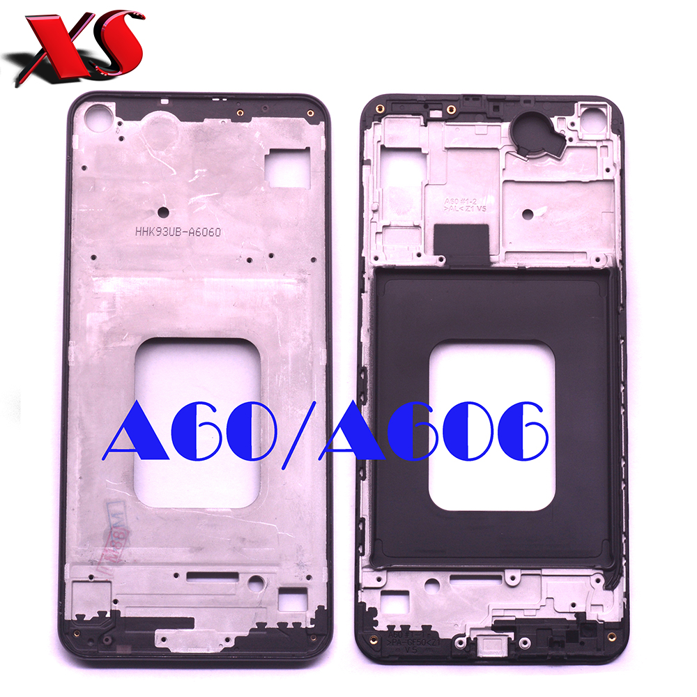 Front panel Bezel Frame Faceplate Housing Replacement for <font><b>Samsung</b></font> <font><b>Galaxy</b></font> <font><b>A60</b></font> <font><b>SM</b></font>-A606F A606DS <font><b>A6060</b></font> image