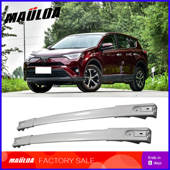 Screw install Aluminium alloy roof rack  cross bar for RAV4 2014 2015 2016 2017 2018