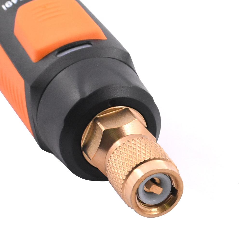 diagnóstico manifold bluetooth ar condicionado refrigeração pressão eletrônica measuretool