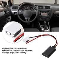 12V 12-Pin Auto Fahrzeug Bluetooth AUX Adapter Fit für MCD RNS 510 RCD 200 210 300 310 500 510