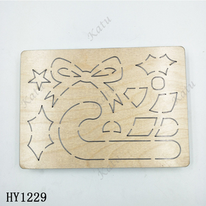 Image 3 - Christmas Decoration  Cutting Dies HY1229 die cut & wooden dies Suitable  for common die cutting  machines on the marke