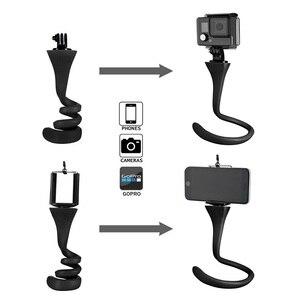 Image 4 - Monkey Stick Pod   Flexible Camera Tripod Mount and Selfie Stick for Gopro  SJCAM  Xiao Yi Mi Action Camera and Smartphone