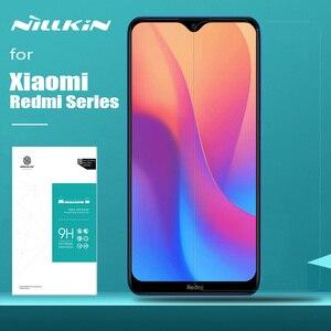 Image 2 - Für Xiaomi Redmi 9 9A 7A K30 Poco X3 NFC F2 Pro Nillkin Gehärtetem Glas Display schutz auf Xiaomi Redmi hinweis 9 9S 8T 8 7 Pro Max