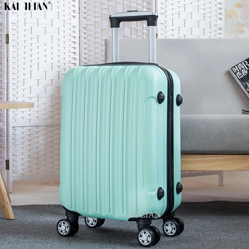 20''24/28 Inch ABS Rolling Luggage Travel Cabin Trolley Suitcase Set Cabin Carry On Luggage Women Student Suitcase On Wheels Big