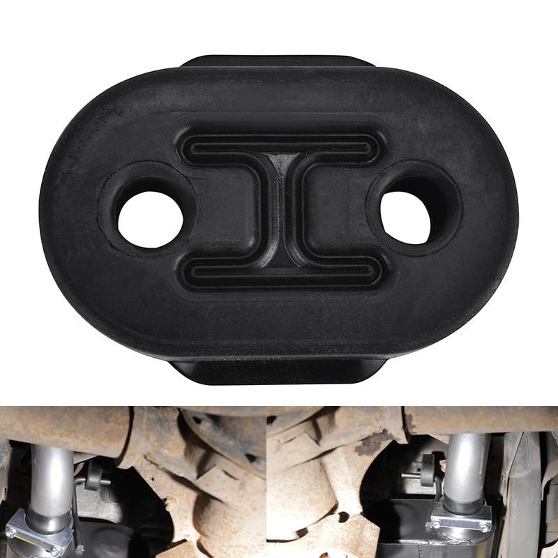 ESPEEDER Universal 2 Holes 10mm Exhaust Insulator Car Exhaust Tail Pipe Mount Brackets Hanger Insulator Automobiles Parts