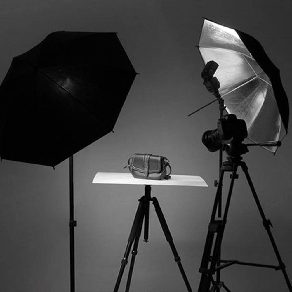"""Studio paraguas 33/"""" Foto De Flash Reflectante translúcido Blanco Luz de Fotografía"""