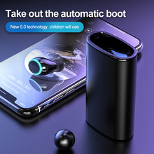 A13 Single ear Bluetooth Earphone with Power bank Cigarette lighter Headphone With Charging Box Stereo Headset PK inpods12 I12(China)