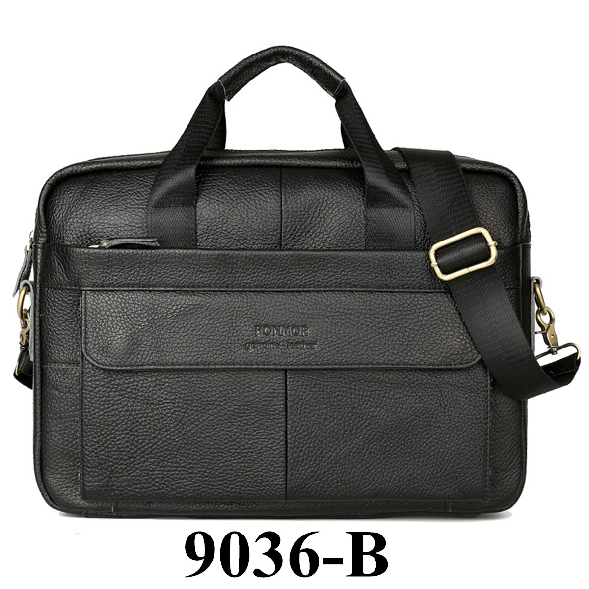Men's Genuine Leather Crossbody Bags Handbags Cowhide Leather Briefcase Mens High Quality Luxury Business Messenger Bags Laptop