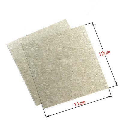5pc Microwave Oven Mica Sheet Insulation Heat Insulation Sheet Mica Paper Universal Mica Board 11*12mm