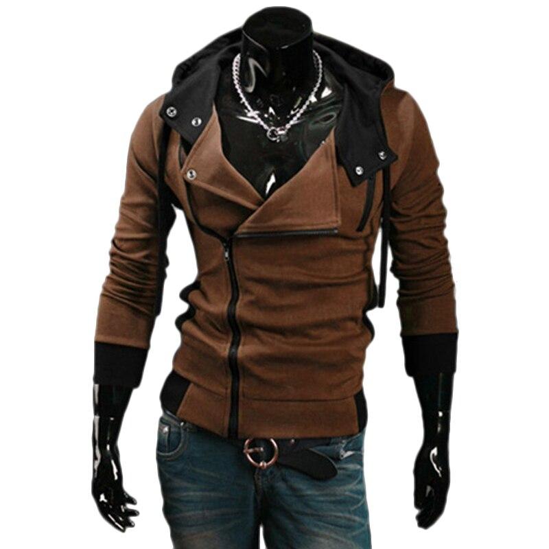 TANGYAXUAN 2019 Side Zipper Patchwork Hoodies Men Casual assasins creed Clothing mens hoodies and sweatshirts sudadera hombre 5
