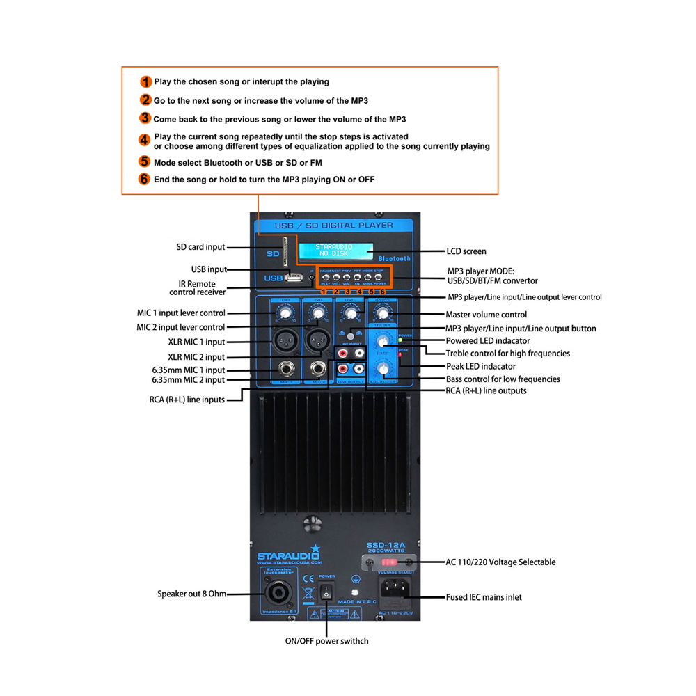 audio pro bt usb speakers