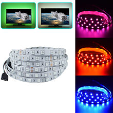 Waterproof 5M RGB 5050 150 Led SMD Flexible Light Strip Lamp+24 key IR Remote Controller For Home kitchen Christmas Party 4.7(China)