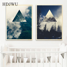 Modern Art Home Decor Canvas Painting Nordic Creative Printing Wall Poster for Living Room  AJ00373