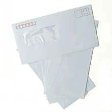Professional Customized No. 6 Window Envelope, White Envelope with Color  Printed