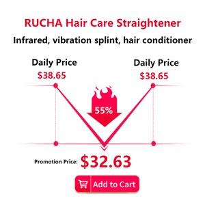 Image 2 - Saç düz kızılötesi saç maşası kıvırcık kuru saçlar için saç Keratin tamir ultrasonik saç tedavisi sıcak ütüler kurtarır hasarlı
