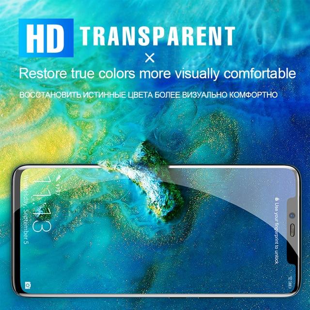 Miękka hydrożelowa folia ochronna do Huawei P30 P40 P20 Pro Mate 20 Pro folia ochronna do ekranu Honor 30 20 Pro 9X 8X 10 Film
