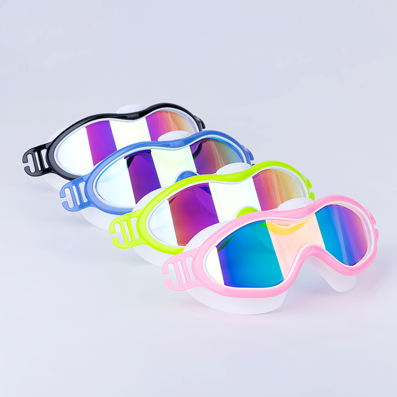 Children Swimming Glasses Polycarbonate Silica Gel Sailing Diving Water Sports Anti-fog Anti-UV Waterproof For swimming pool
